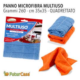 AA PANNO MICROFIBRA MULTIUSO QUADRETT.35X35CM 1895