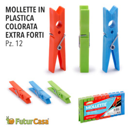 EH MOLLETTE IN PL 12PZ COLORATA EXTRA FORTI 1161