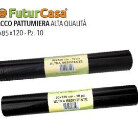 DF SACCO PATTUMIERA 85X120 1KG  10PZ NERO 1303