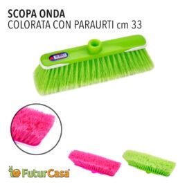 CAL SCOPA ONDA C/PARAURTI COLORATA 0826